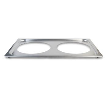 VOL19192 - Vollrath - 19192 - Stainless Steel 2 Hole Adapter Plate Product Image