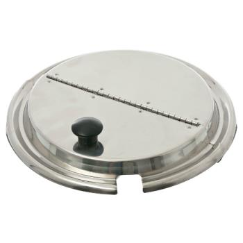 "1331443 - Vollrath - 47488 - 9 5/8"" Diameter Hinged Inset Cover Product Image"