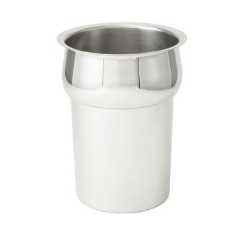 WININS25 - Winco - INS-2.5 - 2 1/2 qt Stainless Steel Inset Product Image