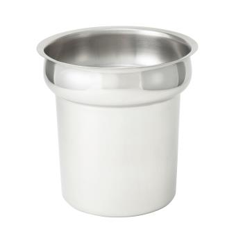 WININS40 - Winco - INS-4.0 - 4 qt Stainless Steel Inset Product Image