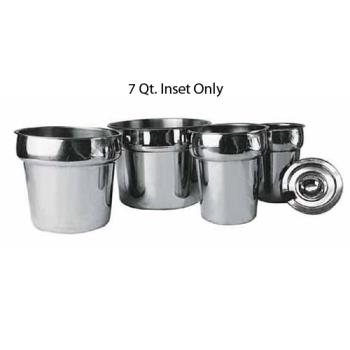 WININS70M - Winco - INS-7.0M - 7 qt Stainless Steel Inset Product Image