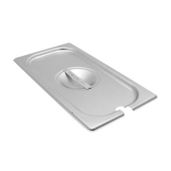 78333 - Vollrath - 75230 - Super Pan V® Third Size Slotted Stainless Steel Pan Cover Product Image