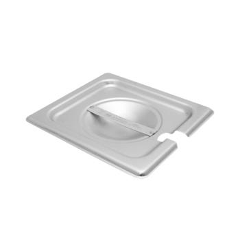 78363 - Vollrath - 75260 - Super Pan V® Sixth Size Slotted Stainless Steel Pan Cover Product Image