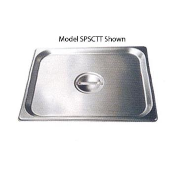 WINSPJLHCS - Winco - SPJL-HCS - Half Size Long Pan Cover Product Image
