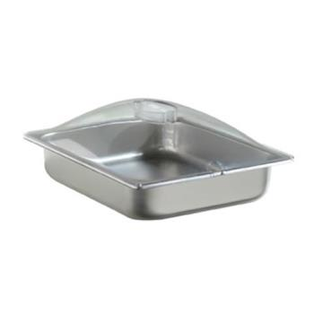 CDOSPL2P - Cadco - SPL-2P - Half Size Steam Table Pan with Clear Lid Product Image