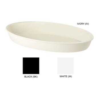 GETML182W - GET Enterprises - ML-182-W - 1.5 qt White Oval Insert Pan Product Image