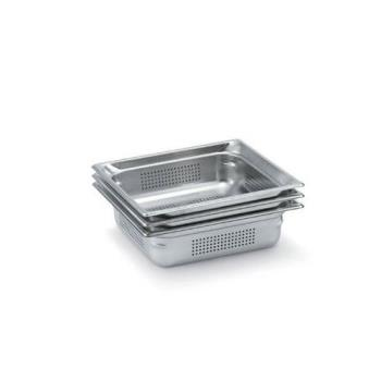 1703 - Vollrath - 90023 - 2 1/2 in Deep Full Size Perforated Steam Table Pan Product Image