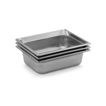 "42362 - Vollrath - 90212 - Super Pan 3 Half Size 1 1/2"" Deep S/S Steam Table Pan Product Image"