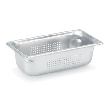 78358 - Vollrath - 90323 - Super Pan 3® 1/3 Size 2 1/2 in Deep Perforated Steam Pan Product Image