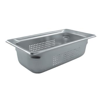 78383 - Vollrath - 90343 - Third Size 4 in Deep Perforated Steam Table Pan Product Image