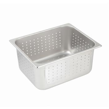 78376 - Winco - SPFP6 - Full Size 6 in deep Perforated Steam Table Pan Product Image