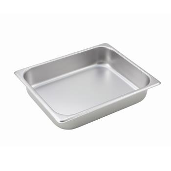 WINSPH2 - Winco - SPH2 - Half Size 2 1/2 in Deep Steam Table Pan Product Image