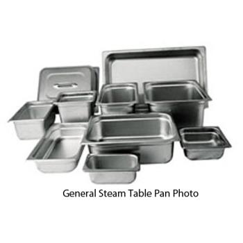 WINSPJH1802 - Winco - SPJH-1802 - Eighteenth Size 2 in Deep Steam Table Pan Product Image