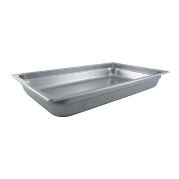 78312 - Winco - SPJL-102 - Full Size 2 1/2 in Deep Steam Table Pan Product Image