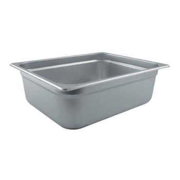 78324 - Winco - SPJL-204 - 1/2 Size 4 in Steam Table Pan Product Image