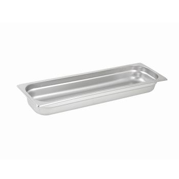 WINSPJL2HL - Winco - SPJL-2HL - Half Size Long 2 1/2 in Deep Steam Table Pan Product Image