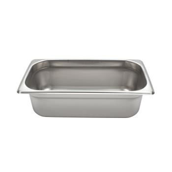 78334 - Winco - SPJL-304 - 1/3 Size 4 in Steam Table Pan Product Image
