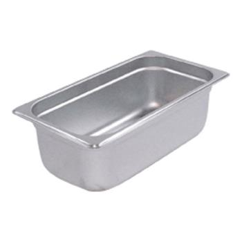 78334 - Winco - SPJL-304 - Third Size 4 in Deep Steam Table Pan Product Image