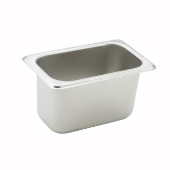 WINSPN4 - Winco - SPN4 - Ninth Size 2 1/2 in Deep Steam Table Pan Product Image