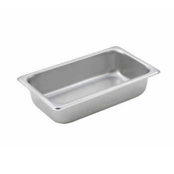 WINSPQ2 - Winco - SPQ2 - Quarter Size 2 1/2 in Deep Steam Table Pan Product Image
