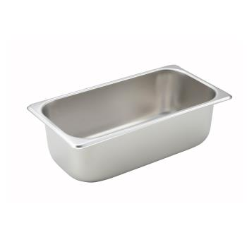 WINSPT4 - Winco - SPT4 - Third Size 4 in Deep Steam Table Pan Product Image