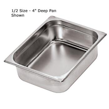 WOR1410410 - World Cuisine - 14104-10 - Half Size Long 4 in Deep Steam Table Pan Product Image