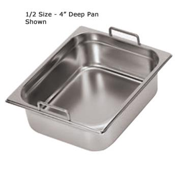 WOR1411510 - World Cuisine - 14115-10 - Half Size 4 in Deep Steam Table Pan Product Image