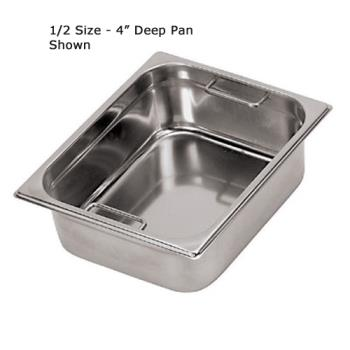 WOR1414820 - World Cuisine - 14148-20 - Fourth Size 7 7/8 in Deep Steam Table Pan Product Image
