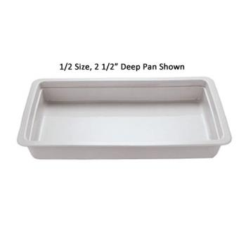 WOR4433406 - World Cuisine - 44334-06 - Half Size Long 2 1/2 in Deep Steam Table Pan Product Image