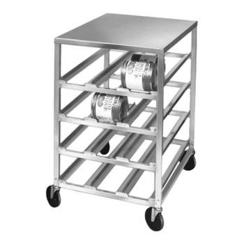 86329 - New Age - 1236 - Low Profile Mobile Can Storage Rack Product Image