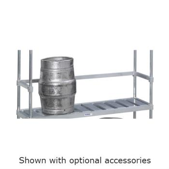 "CHLKS193 - Channel - KS193 - 93"" Back Stop for Keg Storage Rack Product Image"