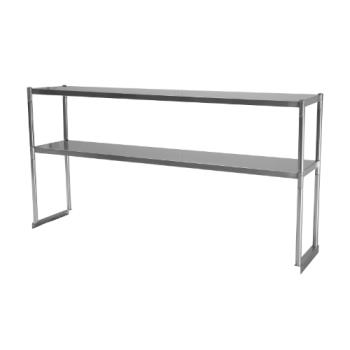 TURTSOS4R - Turbo Air - TSOS-4R - 49 in Stainless Steel Double Overshelf Product Image