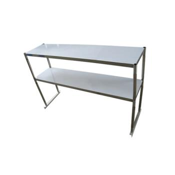 TURTSOS6R - Turbo Air - TSOS-6R - 73 in Stainless Steel Double Overshelf Product Image