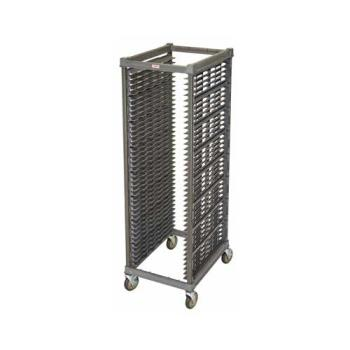 CAMUPR1826F40580 - Cambro - UPR1826F40580 - 40 Pan Camshelving® Ultimate Knock Down Pan Rack w/ Metal Casters Product Image