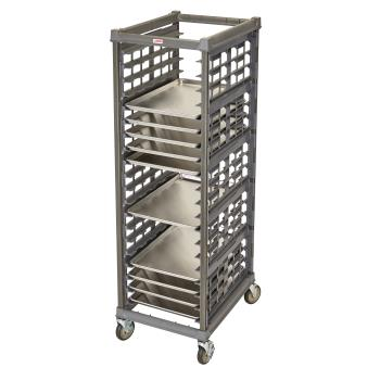 CAMUPR1826FA20580 - Cambro - UPR1826FA20580 - 20 Pan Camshelving® Ultimate Pan Rack w/ Metal Casters Product Image