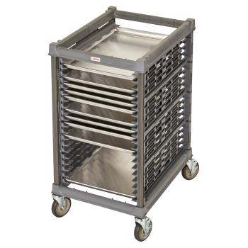 CAMUPR1826H20580 - Cambro - UPR1826H20580 - 20 Pan Camshelving® Ultimate Pan Rack w/ Metal Casters Product Image