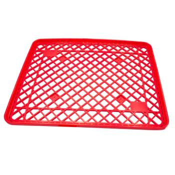86189 - Commercial - 8BKP-301TRAY-RED - Flat Wire Bread Rack Tray Product Image