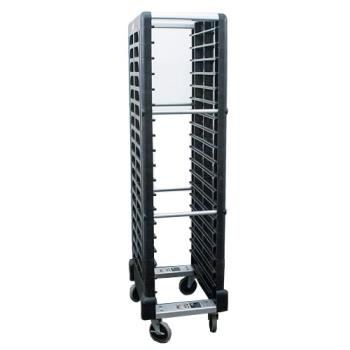 RUBFG331700BLA - Rubbermaid - FG331700BLA - BK Mobile Steam Table Pan Rack Product Image