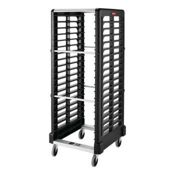 12871 - Rubbermaid - FG332400BLA - 18 Pan Max System™ Black Pan Rack Product Image