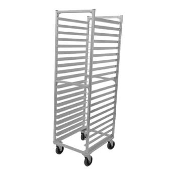86323 - Win Holt  - AL-1820BKD/HD - Full Size Knock Down Mobile Sheet Pan Rack Product Image