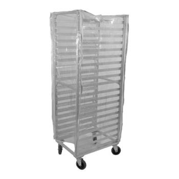 86322 - Win Holt  - SRC-58/3Z - Clear Vinyl Sheet Pan Rack Cover Product Image