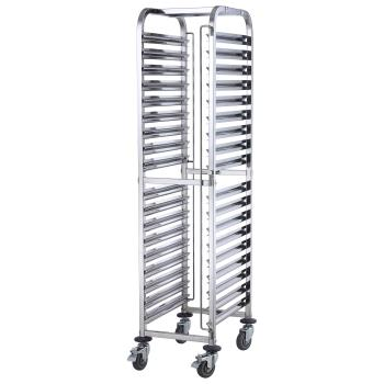 WINSRK36 - Winco - SRK-36 - 36-Tier Mobile Steam Pan Rack Product Image
