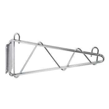 97701 - Winco - VCB-14 - 14 in Chrome Wire Shelf Wall Bracket Product Image