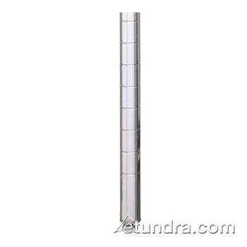 "IME54P - Metro/Intermetro - 54P - 54 9/16"" Super Erecta Chrome Plated Shelving Post Product Image"