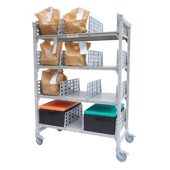 CAMCPM244867FX3480 - Cambro - CPM244867FX3480 - 48 in x 24 in Camshelving® Mobile Flex Station Unit Product Image