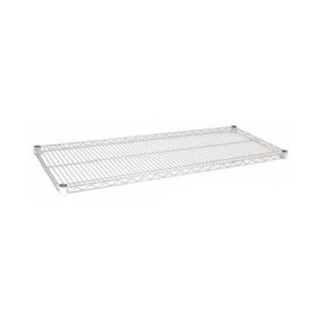 97148 - Focus Foodservice - FF1448C - 14 in x 48 in Chrome Plated Wire Shelf Product Image