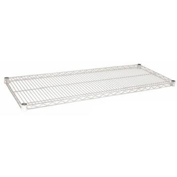97160 - Focus Foodservice - FF1460C - 14 in x 60 in Chrome Plated Wire Shelf Product Image