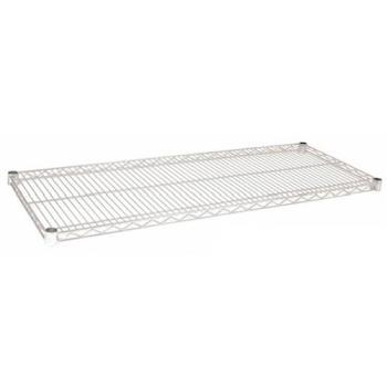97172 - Focus Foodservice - FF1472C - 14 in x 72 in Chrome Plated Wire Shelf Product Image