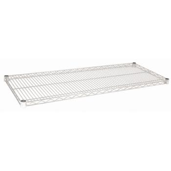 97248 - Focus Foodservice - FF1848C - 18 in x 48 in Chrome Plated Wire Shelf Product Image