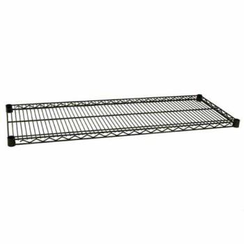 97554 - Focus Foodservice - FF1854G - 18 in x 54 in Green Epoxy Coated Wire Shelf Product Image